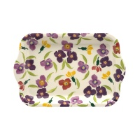 Emma Bridgewater Wallflower Print Small Melamine Tray